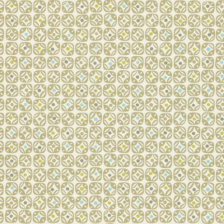 Miro Powder Blue Lime Hemp and Chalk Wallpapers