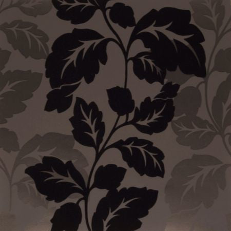 Ornella Flock Charcoal Wallpapers