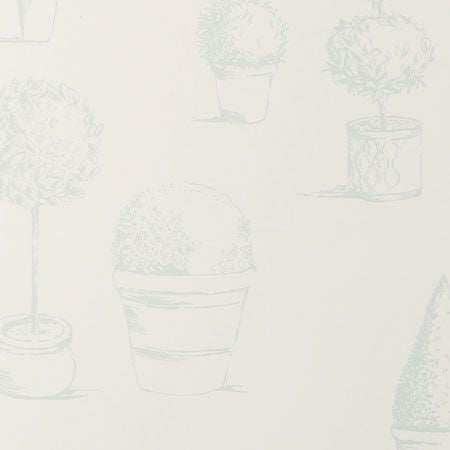 Topiary Duckegg Wallpapers