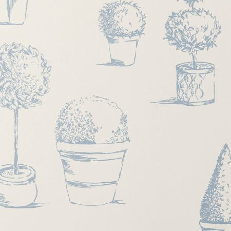 Topiary Wedgewood Wallpapers