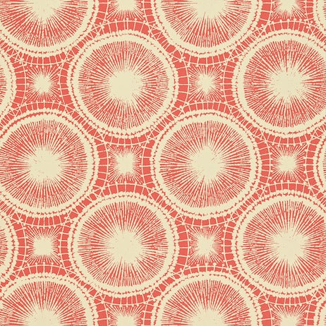 Tree Circles Pimento and Champagne Wallpapers