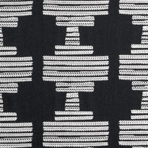 BW1010 Black and White Roman Blinds