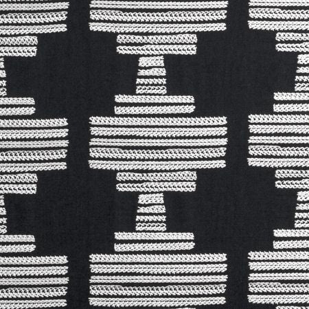 BW1010 Black and White Curtains
