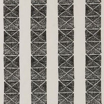 BW1013 Embroidery Black and White Roman Blinds