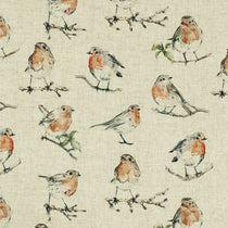 Dawn Chorus Linen Curtains