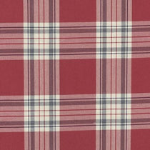 Glenmore Red Curtains