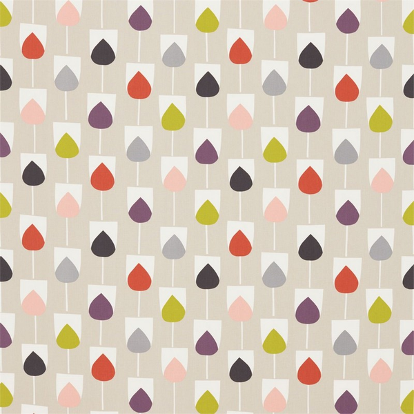 Sula spice rose graphite 120473 fabric by the metre by for Childrens curtain fabric by the metre
