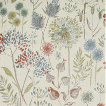 Flora Cream Autumn Fabric by the Metre