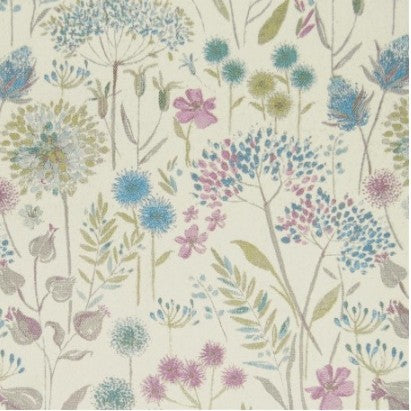 Flora Cream Spring Curtains
