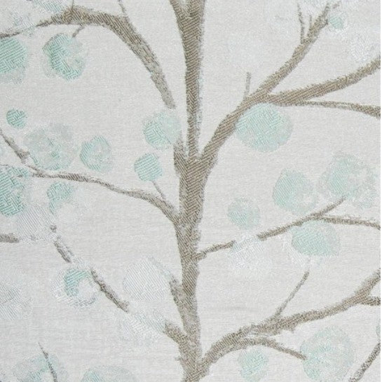 Topola Duck Egg Fabric by the Metre