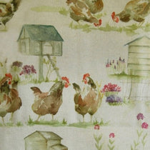 Henny Penny Linen Fabric by the Metre