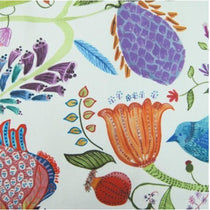 Lindu Summer Ecru Fabric by the Metre