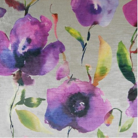 Nerissa Orchid Curtains