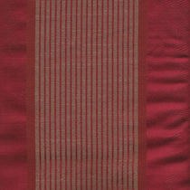 Lynton Stripe Rosso Curtains