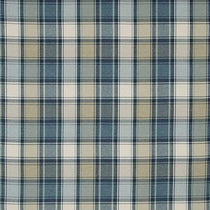 Argyle Indigo Roman Blinds