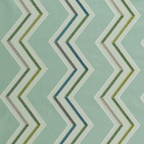 Antibes Aqua_Citron Roman Blinds