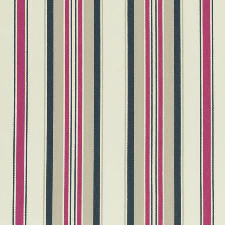 Pampelonne Indigo_Cerise Curtains