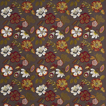 Passion Flower Paprika Fabric by the Metre