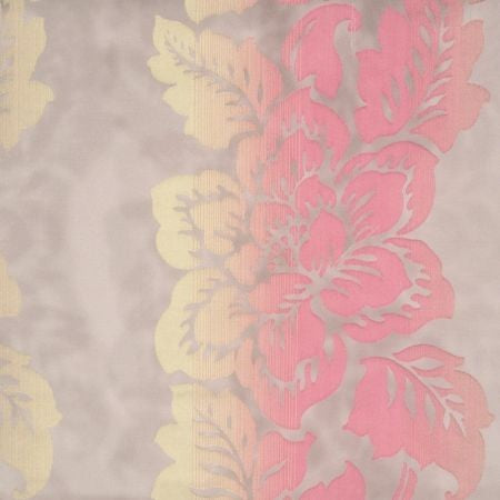 Tranqulity Fuchsia Sheer Voile Curtains
