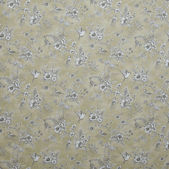 Finch Toile Barley Curtains
