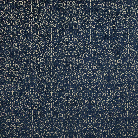 Indiene Indigo Curtains
