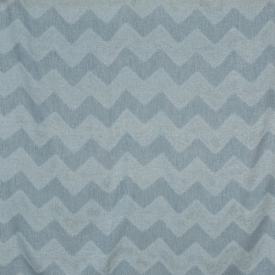 Shoreline Azure Sheer Voile Curtains