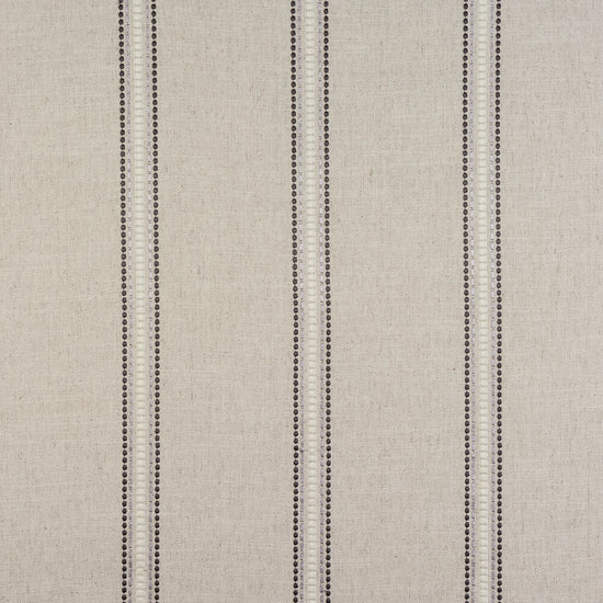 Bromley Stripe Charcoal Curtains