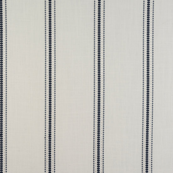 Bromley Stripe Denim Curtains