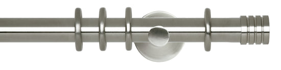Stud Stainless Steel Curtain Poles