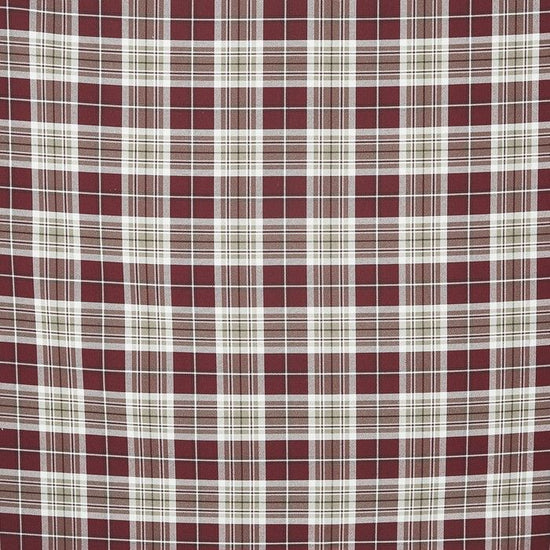 Stroud Cranberry Curtains