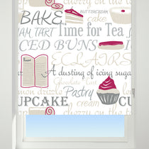 Bake Off Red Roller Blinds