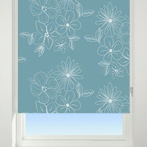Cluster Blue Roller Blinds