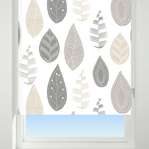Leaf Cluster Neutral Roller Blinds