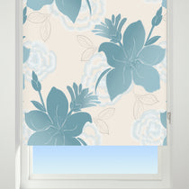 Lilly Blue Roller Blinds
