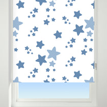 Star Blue Roller Blinds