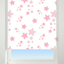 Star Pink Roller Blinds