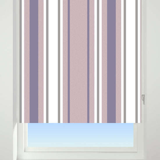Stripe Purple Roller Blinds
