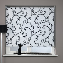 Virginia Black and White Roller Blinds