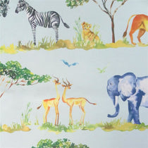 Lets Go On Safari Aqua Wall Art