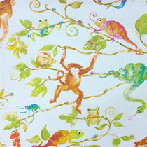 Monkey Business Blue Wall Art