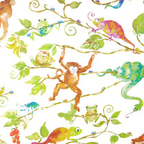 Monkey Business White Wall Art