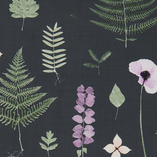 Herbarium Heather Ebony Curtains