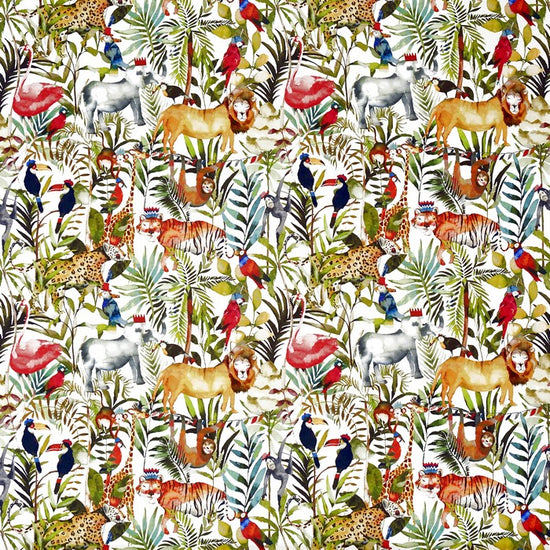 King Of The Jungle Safari Curtains