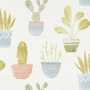 Cactus Pastel Curtains