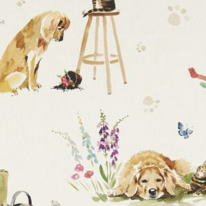 Best Of Friends Cream Curtains