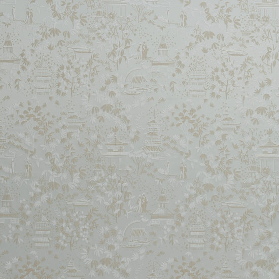 Chinoiserie Duckegg Curtains
