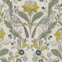 Orchard Birds Forest Chartreuse Valances