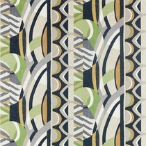 Atelier Saffrom Charcoal Wasabi 120793 Curtains