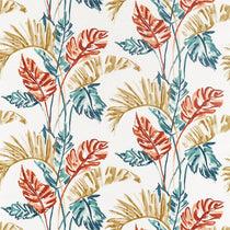 Toshiko Paprika Teal Olive 120791 Curtains