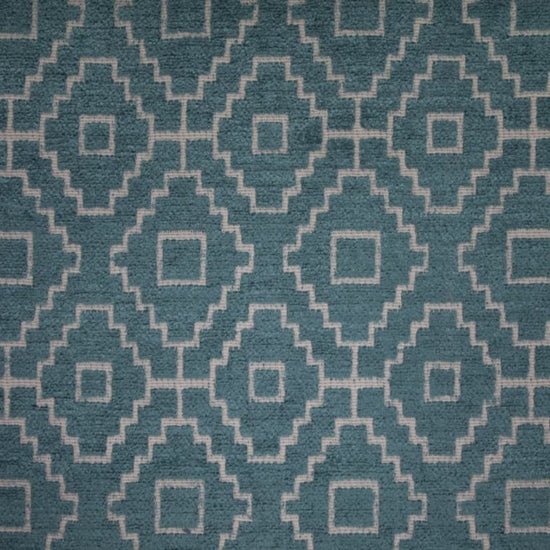 Kenza Teal Curtains